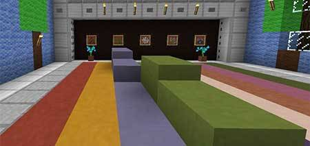 Карта No Jumping для Minecraft PE