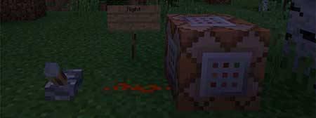 Мод Command Blocks для Minecraft PE