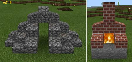 Мод Slope Blocks для Minecraft PE