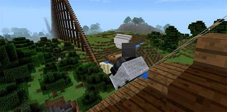 Карта Wooden Cobra [Roller Coaster] для Minecraft PE