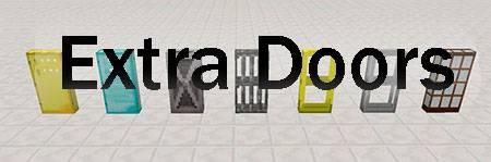 Мод Extra Doors для Minecraft PE