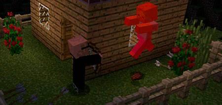 Мод Villager Agent для Minecraft PE