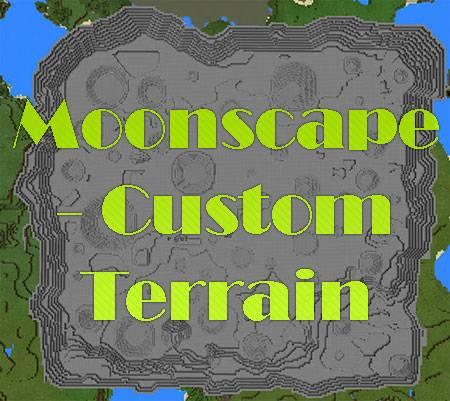 Карта Moonscape - Custom Terrain для Minecraft PE