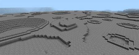 Карта Moonscape - Custom Terrain для Minecraft PE
