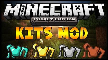 Мод Kit — Стартовые наборы в Minecraft PE
