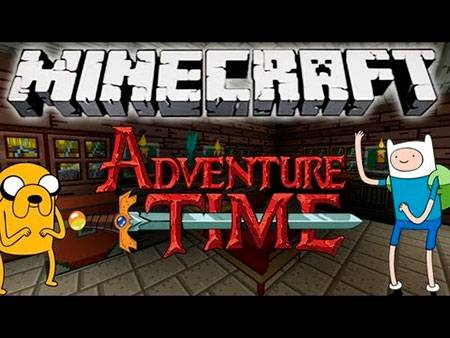 Текстуры Adventure Time Craft для Minecraft PE