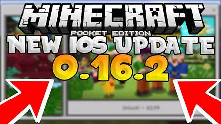 Скачать Minecraft Pocket Edition 0.16.2 на Android