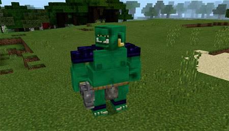 Мод Ogre Addon для Minecraft PE