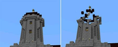 Мод Explosive Arrows для Minecraft PE