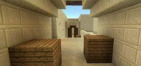 Карта Dust 2 для Minecraft PE