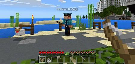 Мод Slingshot для Minecraft PE