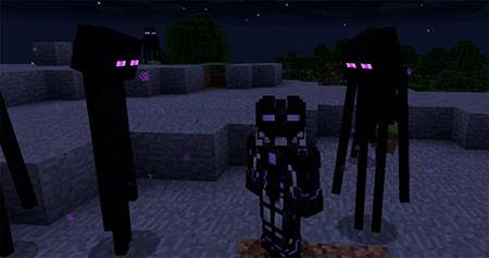 Мод You Are The Enderman для Minecraft PE