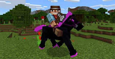 Мод Ender Horse для Minecraft PE