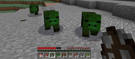 Мод More Pigs для Minecraft PE