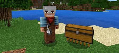 Мод Chest Pet для Minecraft PE