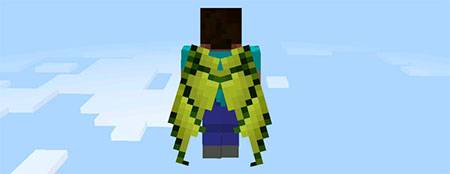 Мод Custom Elytra Wings для Minecraft PE