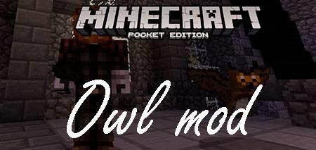 Мод Owl для Minecraft PE