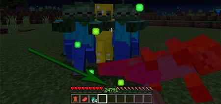 Мод God Player для Minecraft PE