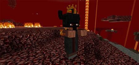 Мод Elemental Bosses для Minecraft PE