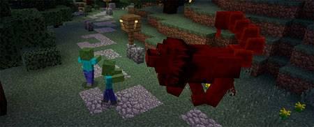 Мод Amazing Mobs для Minecraft PE