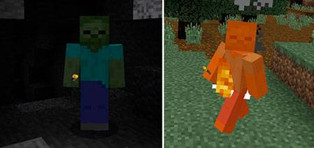 Zombie Mode для Minecraft PE
