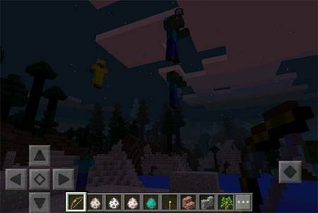 Мод Arrow of Levitation для Minecraft PE