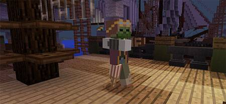 Мод Pirate Zombie для Minecraft PE