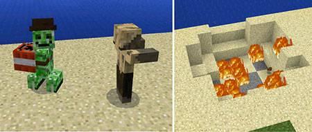 Мод Friendlies для Minecraft PE