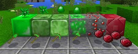 Мод Slime Boss для Minecraft PE