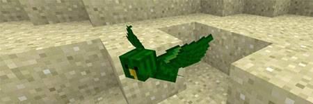Мод The Birds для Minecraft PE