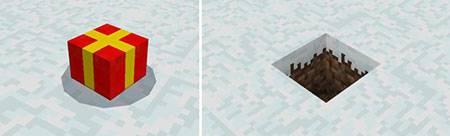 Мод Mine-Gifts для Minecraft PE