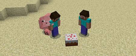 Мод Explosive Pigs для Майнкрафт ПЕ
