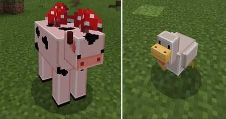 Текстуры Blocky Mobs для Minecraft PE