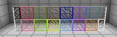Мод Stained Glass Unlocker для Minecraft PE