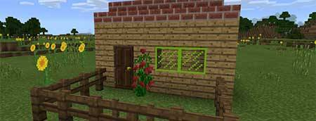 Мод Stained Glass Unlocker для Minecraft PE