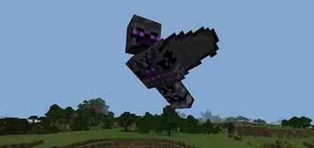 Мод God Boss для Minecraft PE