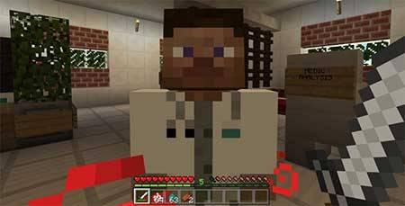 Мод Doctor Husk для Minecraft PE