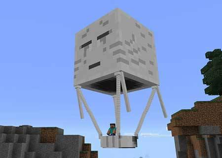 Hot Air Balloon mcpe 1
