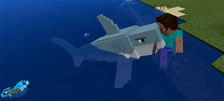 Jaws and Megolodon mcpe 3