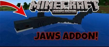 Мод Jaws and Megolodon для Minecraft PE