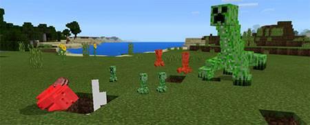 Mutant Creeper mcpe 2