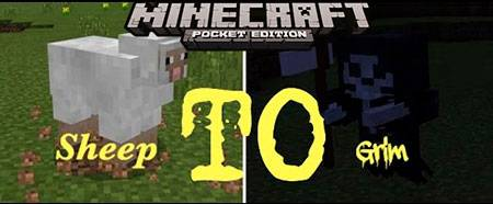 Мод Grim Reaper для Minecraft PE