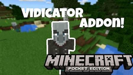 Мод Vindicator для Minecraft PE
