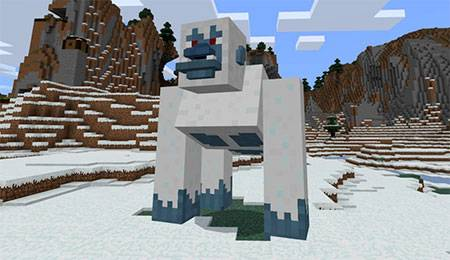 Giant Yeti mcpe 2