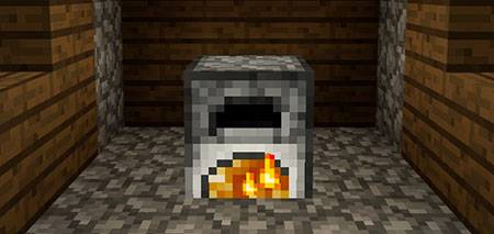 Fire in the Furnace mcpe 1