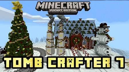 Карта Tomb Crafter 7: Christmas для Minecraft PE
