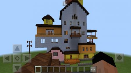 Скачать карту Привет сосед для Майнкрафт ПЕ (Hello Neighbour)