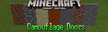 Текстуры Camouflage Doors для Minecraft PE