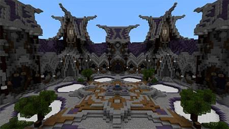Fantasy Sky Island PVP mcpe 2