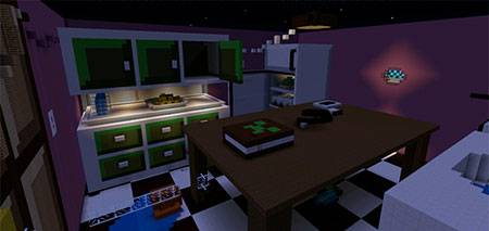 Kitchen Hide-and-Seek mcpe 1